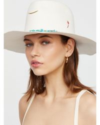 Free People - Lovers Cove Felt Hat - Lyst