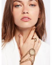 Free People - Saint Christopher Chain Glove - Lyst