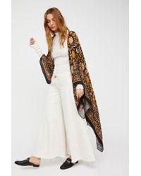 0afba23f63588 Free People - Magic Dance Border Print Kimono - Lyst