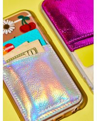 Free People   Leather Iphone Pocket   Lyst