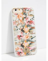 Free People - Marble Flower Phone Case - Lyst