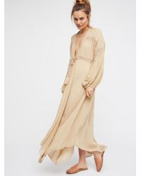 Free People - Just Like Lucy Maxi Dress - Lyst