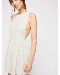 Free People - Brb Mini Dress - Lyst