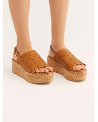 Free People - Eden Flatform By Fp Collection - Lyst