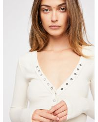 Free People - New Frontier Henley - Lyst