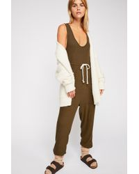 Free People - Sunday Snuggles Jumpsuit By Intimately - Lyst