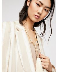 Free People - Riversong Pendant - Lyst