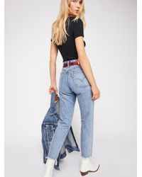Free People - Levi's Wedgie Icon High-rise Jeans - Lyst