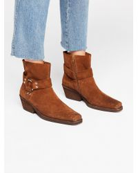 Free People - Fairfax Western Boot By Jeffrey Campbell - Lyst