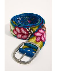 Free People Cerisa Embroidered Belt