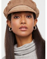 Free People | Oliver Cord Lieutenant Hat | Lyst