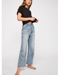 Free People - Wales Wide-leg Jeans By We The Free - Lyst