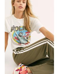 bea021fd9 Free People Go-go's Tee in White - Lyst