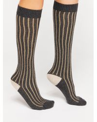 Free People - Cambridge Cashmere Knee High Sock By Hansel From Basel - Lyst