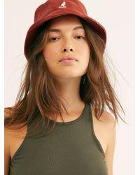 Free People Kangol Cord Bucket Hat - Multicolour