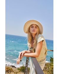 Free People - Dana Crochet Bucket Hat - Lyst