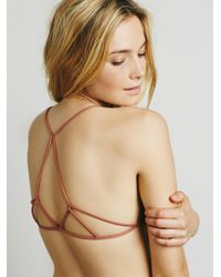 Free People - Prism Strappy Bra - Lyst