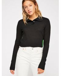 Free People - We The Free Marigold Turtle Top - Lyst
