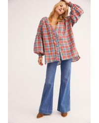 Free People - We The Free Oasis Buttondown - Lyst
