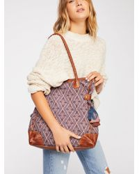 Free People - Luma Tapestry Tote - Lyst