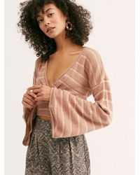Free People - Give It A Spin Crop Top - Lyst