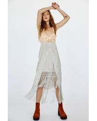 6a302aaf0bac1 Free People Not An Illusion Bodycon in Brown - Lyst