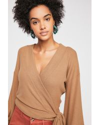 Free People - Wrap Me Up Pullover By Fp Beach - Lyst