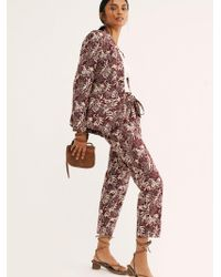 Free People Allover Printed Suit By Scotch & Soda