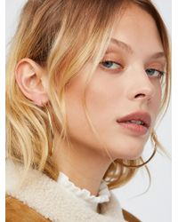 Free People - Accessories Jewellery Earrings Hoop Earrings Essential Tube Hoops - Lyst