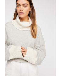 Free People - Cuddle Up Pullover - Lyst