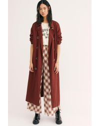 Free People - Sweet Melody Trench Coat - Lyst