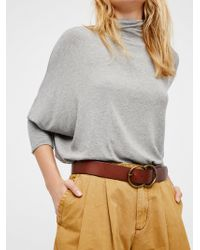 Free People - Eternity Leather Belt - Lyst