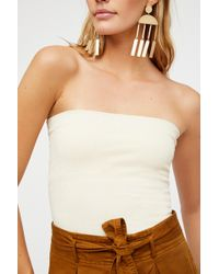Free People - Seamless Sparkle Tube By Intimately - Lyst
