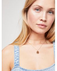 Free People - Valentina Layered Necklace By Five And Two - Lyst