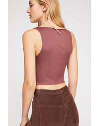 Free People - Top Notch Crop By Intimately - Lyst