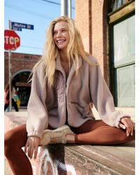 Free People - Hit The Slopes Jacket By Fp Movement - Lyst