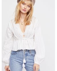 Free People - Oberoi Top - Lyst