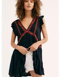 Free People - Garden Party Tunic - Lyst