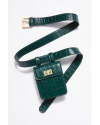 Free People - Crocodile Belt Bag - Lyst