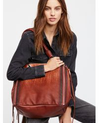 Free People - River Run Washed Tote - Lyst