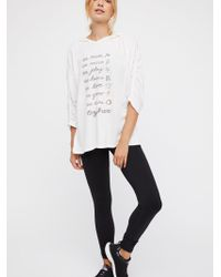 Free People   Fp Movement Move Together Tee   Lyst