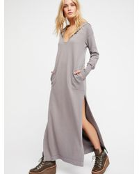 Free People - Clothes Jumpers Tunics Lazy Days Tunic - Lyst