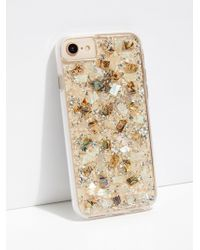 Free People - Mother Of Pearl Phone Case - Lyst