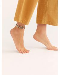 Free People - Treasure Layer Anklet - Lyst