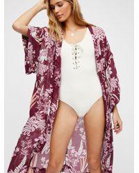 Free People - If You Say So Kimono - Lyst