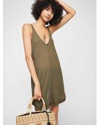 Free People - Clovers Mini Dress - Lyst