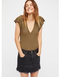 Free People - We The Free Simone Tee - Lyst