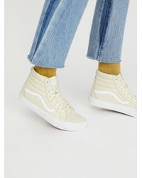 Free People | Sk8-hi Reissue Dx Leather Sneaker | Lyst
