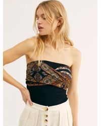 Free People - Wrapped Up In You Top - Lyst