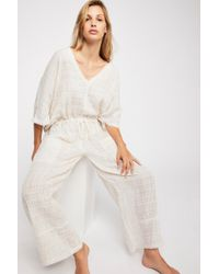 Free People - On The Line Jumpsuit By Intimately - Lyst